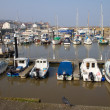 Watchet harbour Somerset England - Lizenzfreies Foto