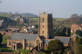 Dunster Church Somerset England, — Stock Photo