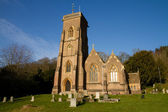 Church West Quantoxhead Somerset England — ストック写真