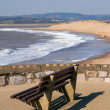 Exmouth Devon South West England a popular tourist resort — Stock Photo