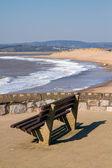 Exmouth Devon South West England a popular tourist resort — Stock Photo