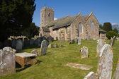 Littleham kilise exmouth devon — Stok fotoğraf