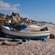 Stock Photo: Budleigh Salterton Devon South West England