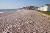 Budleigh Salterton beach Devon South West England — Stock Photo