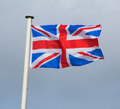 Union Jack Flag of Great Britain the British flag — Stock Photo