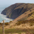Costa de devon do norte perto de ilfracombe e lynmouth — Foto Stock