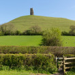 Glastonbury Tor Somerset England uk - Stock Photo
