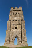 St Michaels Tower Glastonbury Tor Hill Somerset England — Stock Photo