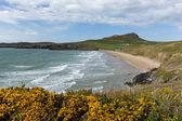 Whitesands Bay Pembrokeshire West Wales UK — Stock Photo
