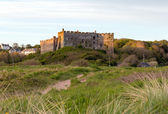 Manorbier Castle near Tenby West Wales — Stock Photo