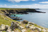 West Wales coast Deadmans Bay near Skoma island — Stock Photo