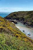 Porthclais near St Davids Pembrokeshire Wales — Stock Photo