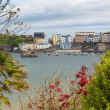 Stock Photo: Tenby Wales historic Welsh town
