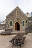 St Julians Church Tenby Pembrokeshire West Wales on the harbour — Stock Photo