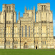 Stock Photo: English cathedral Wells Somerset England