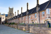 Vicars Close Wells Cathedral Somerset, England — Stock Photo