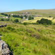 Merrivale Dartmoor Devon England known for nearby Bronze Age megalithic monuments — Stock Photo