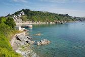 Cornwall coast at Looe Cornwall England — Stock Photo
