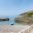 Portwrinkle harbour near Looe Cornwall England, United Kingdom — Stock Photo