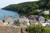 View of Cawsand coast Cornwall England United Kingdom — Stock Photo
