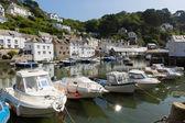 Polperro Cornwall England UK, beautiful Cornish fishing port. — Stock Photo