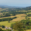 Stock Photo: View from on Quantock Hills Somerset England