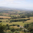 Stock Video: View from Quantock Hills Somerset England