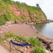 Maidencombe beach and cove Devon between Torquay and Teignmouth — Stock Photo