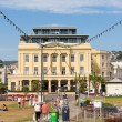Stock Photo: Seafront at Teignmouth Devon England enjoying sunny warm weather