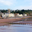 Stock Photo: Teignmouthtown and beach Devon England