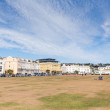 Stock Photo: Beach lawns Teignmouth Devon England
