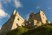 St Michaels Mount Marazion Cornwall England UK castle and church — Stock Photo