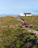 Path to Lands End Cornwall England UK — 图库照片