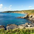 Cornwall coast Kenneggy Sand Cornwall England near Praa Sands and Penzance — Stock Photo