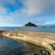 St Michaels Mount Marazion Cornwall England medieval castle and church in Mounts Bay — Stock Photo