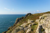 Zennor Head promontory Cornwall England UK near St Ives on the South West Coast Path on the Penwith Heritage Coast — Stock Photo