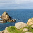 Stock Photo: Lands End Cornwall England English tourist attraction