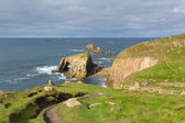 Lands End Cornwall England English tourist attraction — Foto de Stock