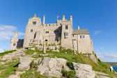 St Michaels Mount Marazion Cornwall England medieval castle and church on an island  in Mounts Bay — Stock Photo