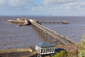 Birnbeck Pier Weston-super-Mare Somerset England historic English structure — Stock Photo