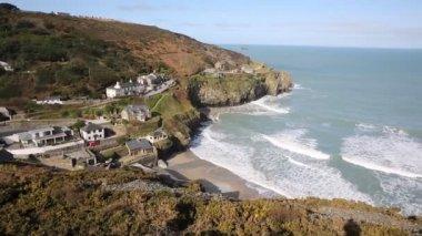 St Agnes Cornwall England United Kingdom UK — ストックビデオ