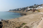 St Mawes coast Cornwall on the Roseland Peninsula Cornish south west England UK — Stock Photo