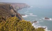 Godrevy Portreath Heritage Coast Cornwall England UK — Stock Photo