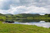 Watendlath 塔恩西湖区坎布里亚郡英格兰湖区和 thirlmere 山谷靠近德文特河水源之间 — 图库照片