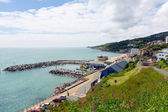Ventnor Isle of Wight uk south coast of the island tourist town — Stock Photo