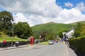 Grasmere village Cumbria popular tourist destination English Lake District National Park — Stockfoto