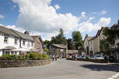 Grasmere village Cumbria popular tourist destination English Lake District National Park — Stock Photo