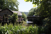 Grasmere village Cumbria popular tourist destination English Lake District National Park — ストック写真