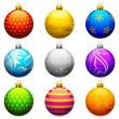 Christmas Bauble — Vector de stock