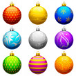 Christmas Bauble — Stock Vector #12456840